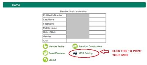 philhealth-member-data-record