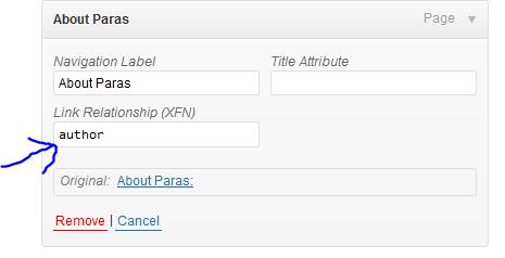 Authorship Markup WordPress.com