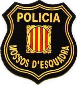 Mossos d'esquadra en Cataluña