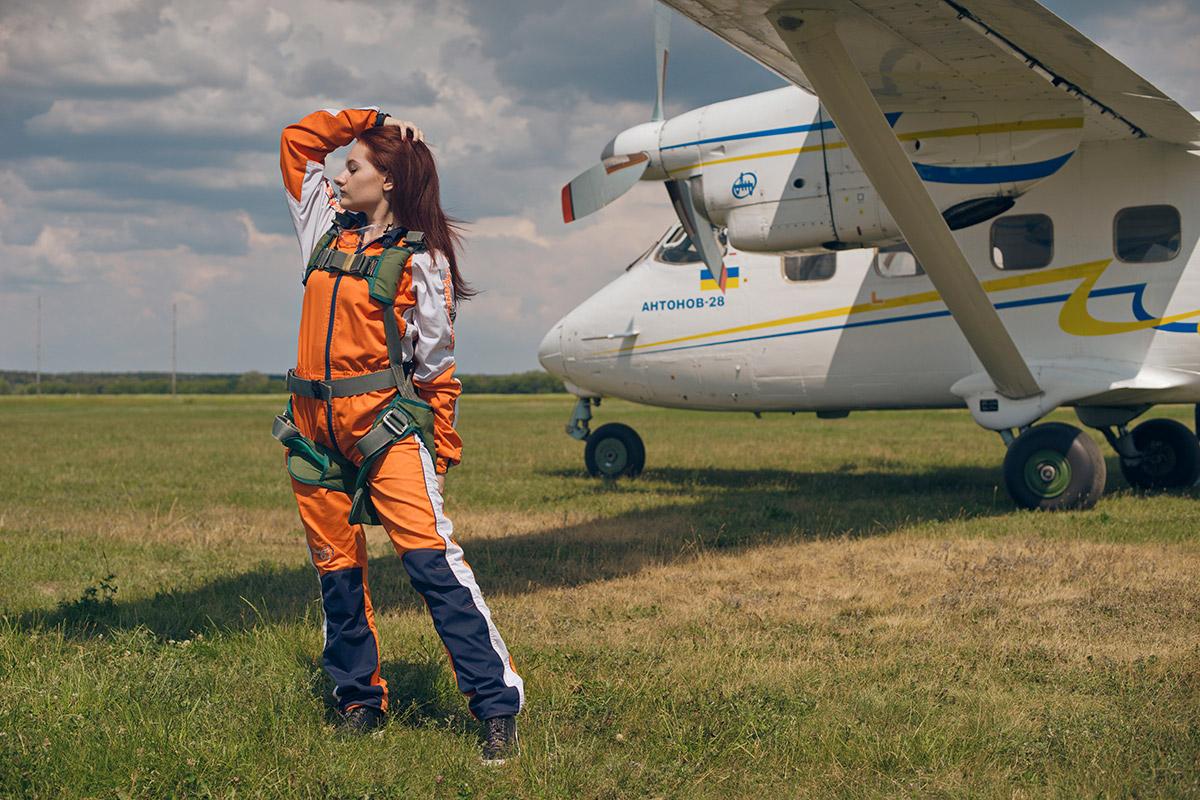 Прыжки с парашютом в Киеве Чайка - ПАРА-СКУФ