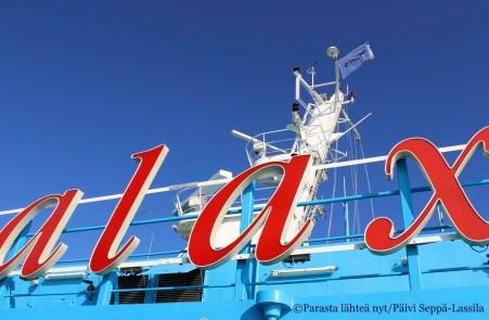 Maarianhaminaan minut kuljetti Viking Galaxy -laiva.