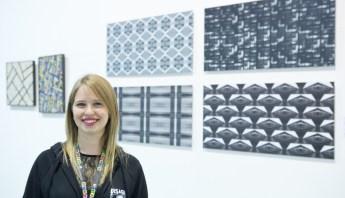 La curatrice Aurora Bolandin
