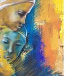 SAMANTHA CAPALDO_01_02, acrilico su tela, 2016, h84x50, C