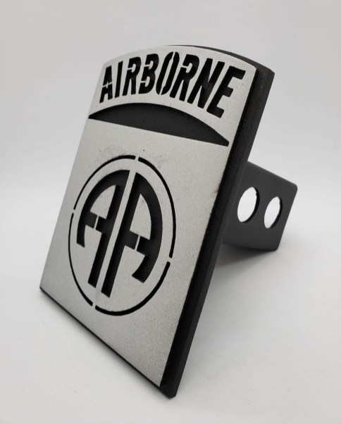 Airborne Hitch Cover angle