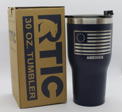 30 oz 13 Colonies Flag with box