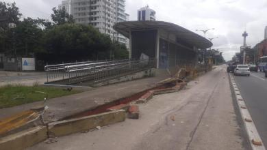 Photo of Para evitar novo acidente, Seurb retira grades da ciclovia do BRT