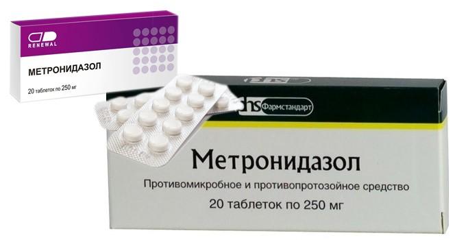 Метронидазол система в гинекологии