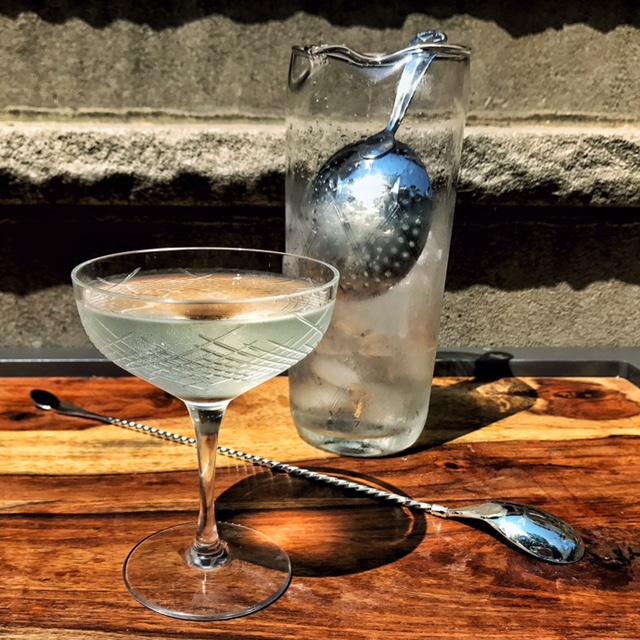 Timothy Miner guest post: VICTORY GIN martini