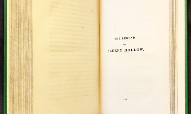 Washington Irving Part 1: The Legend of Sleepy Hollow