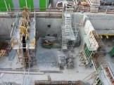 Préparation de construction de murs