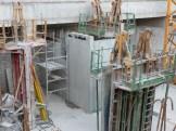 Cage d'ascenseur au 1er niveau de sous-sol