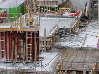 Dalle des 2 derniers duplex du rez-de-chaussée, bâtiment B