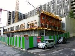 Vendredi 11 juillet, construction du mur latéral Est du 1er étage