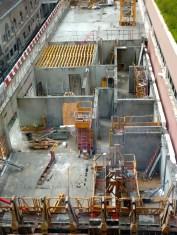 Murs du 1er étage, Bâtiment C