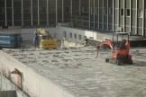 Destruction du béton des anciens Bureaux de l'Hôtel Ibis