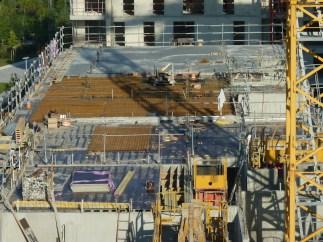 Parc 17, bâtiment A, dalle du 6° étage, 27 septembre 2014