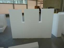 Une représentation de Parc 17 en polystyrène