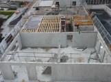 Parc 17, bâtiment C, début de construction de la dalle du 7° étage, 17 octobre 2014