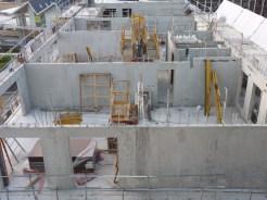 Parc 17, bâtiment C, murs du 7° étage, 31 octobre 2014