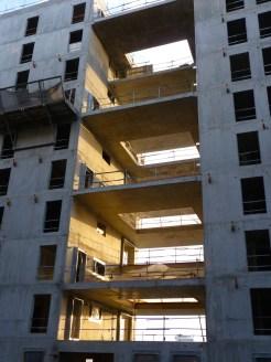 Terrasse entre les bâtiments B & C