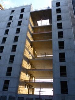 Terrasse entre les bâtiments A & B