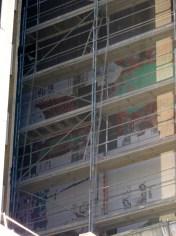 Sérigraphies de la façade Nord du bâtiment A