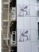 Gardes-corps latéraux, bâtiment C