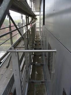 Gardes-corps latéraux, 2° étage, bâtiment C