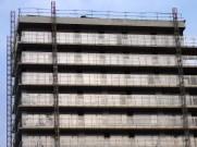 Gardes-corps vitrés posés, bâtiment A