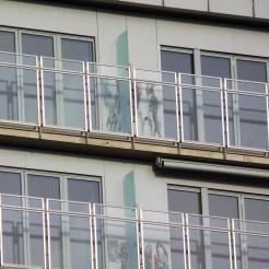 Pare-vues sur balcons du bâtiment C