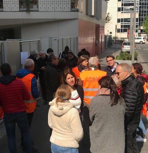 """L'équipe de Plus belle ma rue, Valérie Nahmias et Geoffroy Boulard Crédit photo """"Plus belle ma rue"""""""