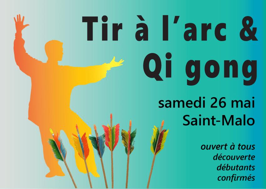 "Journée ""Tir à l'arc & Qi gong"" – samedi 26 mai 2018 – Saint-Malo"