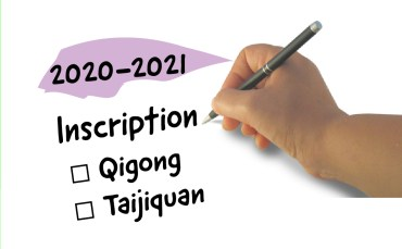 Inscriptions aux cours de Qigong – Rennes – Saison 2020-2021