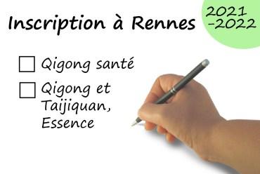 Inscriptions pour la saison 21-22 – Rennes