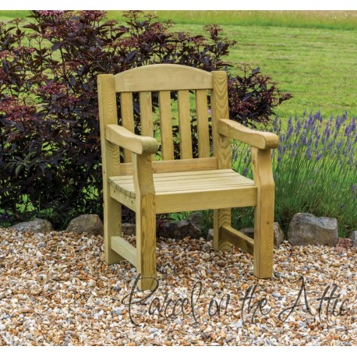 Elda Individual chair heavy duty garden bench