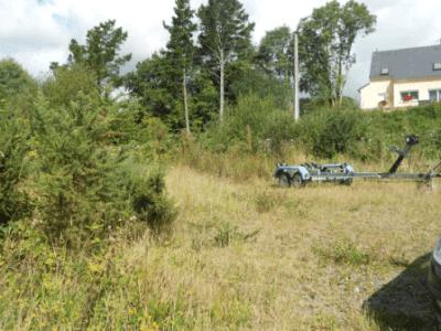 Quimerch terrain à bâtir grand 800 m² plusieurs vues