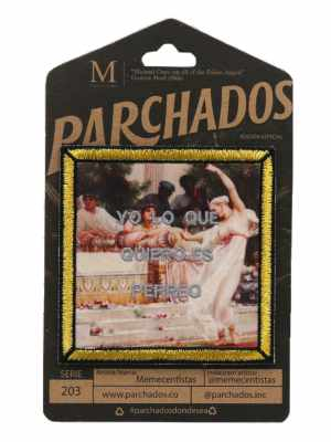 parche_memecentistas_yo_lo_que_uiero_es_perreo_perreo_empaque_parchados_op