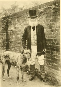 Gamekeeper and hound