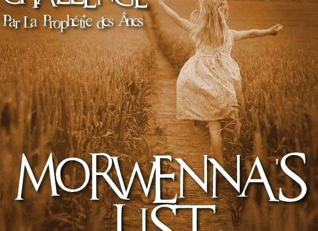 Challenge Morwenna List
