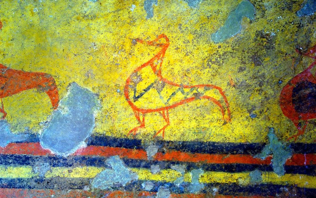 Domenica 2 luglio:  I maestri dell'arte etrusca: l'origine della pittura
