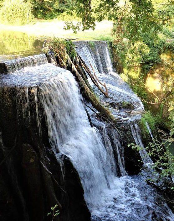 la cascata della mola