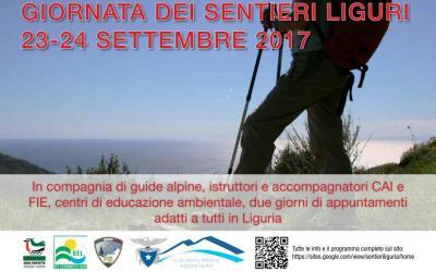 Altrove… Giornata dei Sentieri Liguri con il CAI
