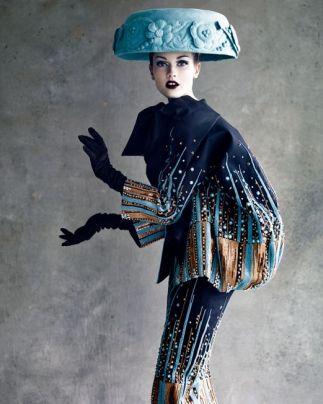 Dior haute couture - Photo Patrick demarchelier
