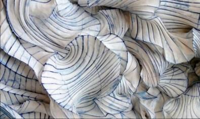 Detail d'une sculpture de papier, Peter Gentenaar - PhotoPinterest