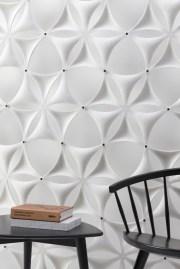 Airflake - panneaux ajourés en feutre absorbeur de sons - Design Abstracta