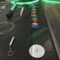 Les LED utilisées pour le light painting