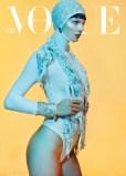 Manchette en couverture de Vogue Germany 2013 - Photo site ikone Paris