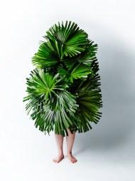 "Azuma Makoto - ""Leaf man"", Kuba - Photo Azuma Makoto"