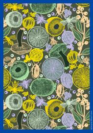 """Michaël Cailloux, artiste designer - Nouvelle collection de fragments de papiers peints (28 X 40 cm) baptisée """"Bouquets"""""""