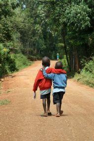 Sur le chemin de l'école - Photo Pinterest